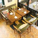 Presidenza di legno elegante del braccio usata caffetteria del caffè del ristorante (SP-EC626)