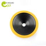 Gelber Felgen-Schaumgummi-Rand gepresster Papierkegel der Farben-2
