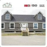 Двух этажное здание солнечной сборных Villa / стальные модульные здания/ сегменте панельного домостроения в доме