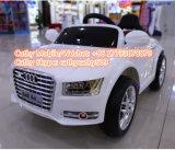 Le véhicule électrique de gosses bon marché d'Audi avec le moteur simple chantent la batterie