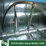 Miscelatore orizzontale del riscaldamento di olio con uscita pneumatica