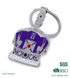 Fabrik kundenspezifische Metallkreuz-Schlüsselkette für Andenken (XD-1010)