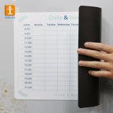 Tarjeta seca del Erase del calendario magnético del refrigerador del imán del refrigerador