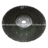 أسود بلاستيكيّة سلك طريق تنظيف فرشاة ([ي-717])