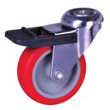 PU-Rad-Baugerüst-Fußrollen-Welle-Fußrollen-industrielle Fußrolle