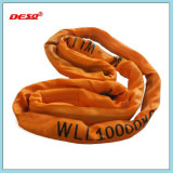 Imbracatura rotonda della tessitura del poliestere durevole di sicurezza