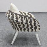 Патио с видом на сад легкий из ротанга плетеная один стул дизайн