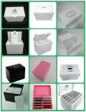 Caixa acrílica do chicote com 10 páletes, 16cm x 10.5 Cm X 13cm