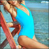 Swimwear di un pezzo del bikini su ordine più popolare 2016