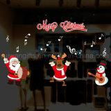 تشوّش ب تمسّك قابل للنقل نافذة لاصق لأنّ بينيّة/متجر [ويندووس] عيد ميلاد المسيح زخرفة