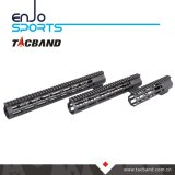Picatinny Rail Handguard Keymod composite en fibre de carbone (G05M135)