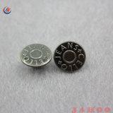 Les Jeans métallique rond Button Factory Bouton personnalisé de promotion de métal