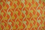 2015本の縞パターンは編まれたソファーファブリックを印刷した