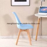 Деревянные бархатной ткани обеденный стул/обеденный стул ткань
