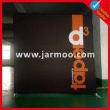 Kundenspezifisches Drucken-Spannkraft-Gewebe, das Hintergrund-Wand bekanntmacht