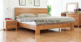 固体木のベッドの現代ダブル・ベッド(M-X2283)