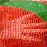 Sacs végétaux de maille pour le dessus de l'oignon 50X80cm avec le cordon