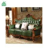 Ledernes Material mit elegante Art-Sofa