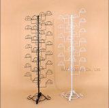 Banco di mostra d'attaccatura di stile del ferro saldato del pavimento europeo del portacappelli