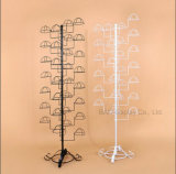Bearbeitetes Eisen-europäischer Art-Hut-Zahnstangen-Fußboden-hängender Ausstellungsstand