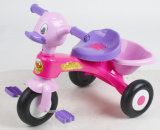 Paseo del bebé del coche del juguete de los niños del juguete de los cabritos del plástico de la alta calidad en el coche con el certificado del Ce