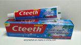 Cteethフッ化物の倍のミントの涼し氷の極度の白くなる歯磨き粉無し