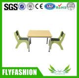 Los niños popular tabla de la plaza de muebles de jardín de infantes (SF-43C)