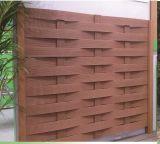 Jardín cercas de madera compuesto de plástico de uso Seguridad WPC Esgrima