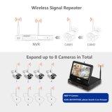 Installationssatz des P2p 720p 8CH WiFi drahtloser IPcctv-Überwachungskamera-inländischen Wertpapier-NVR