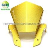 Pare-brise avant en aluminium de précision pour les motards partie d'usinage CNC