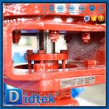 De Vleugelklep van de Hoge Prestaties van de Prijs van de Fabriek van Didtek Met Actuators van het Toestel