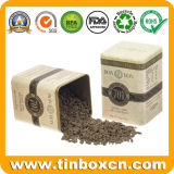 lata de estanho quadrada do chocolate 250g/8.8oz quente para o empacotamento de alimento do metal