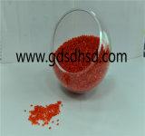 Riciclare il colore rosso Masterbatch della materia plastica pp