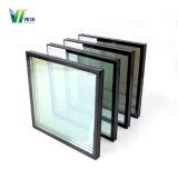 Precio Online templado aislados de plata de doble vidrio Low-E