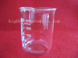 Hoher Formular-Quarz-Glas-Becher mit Staffelung