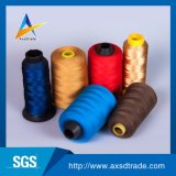 織物のための驚かせる100%回されたポリエステル刺繍ファブリック縫う糸