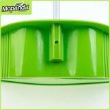 Vassoura da quantidade & Dustpan elevados Plastic&#160 ajustado;