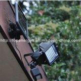 riflettore di 3W 60LED con l'indicatore luminoso di inondazione solare del sensore di movimento LED