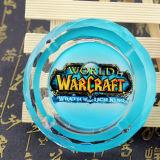 De nieuwe Verwante Producten van het Spel van de Aankomst Online van Wow Creatieve Rokende Gift voor Asbakje van het Kristal van de Vriend van de Speler van het Spel K9 het Kunstmatige