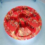 Китай поставщиков одноразовых напечатано суши пластиковые лотки в блистерной упаковке