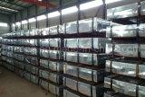 material para techos galvanizado acanalado 665/800/900m m del metal de la azotea Tile/0.13/0.3/0.4mm