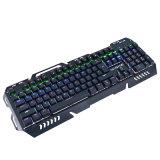 Связанная проволокой USB механически клавиатура разыгрыша компьютера для Gamer
