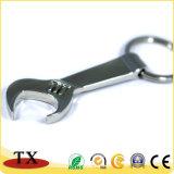 Abridor de frasco da forma da chave com o Keychain para o presente da promoção