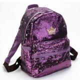 Мода для Multi-Color кожаная сумка пайетками рюкзак для девочек и женщин и женщин