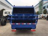 特別なトラック6の車輪10cbmのコンパクターのごみ収集車の屑のコンパクターのトラック