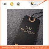 Modifiche ecologiche su ordinazione di caduta del nero di marchio di stampa della fabbrica per vestiti