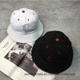 Algodão personalizada 2D Enbroidery Balde de silk-screen simples HAT