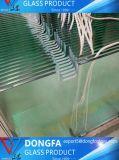 외부 정원 유리 담을%s 세륨 승인되는 매우 명확한 박판으로 만들어진 유리