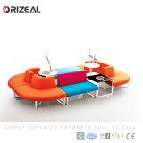 Insieme modulare del sofà di Orizeal, sofà sezionale della mobilia modulare del tessuto multifunzionale dello strato da vendere (OZ-OSF025)