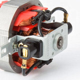 Motor de C.A. para o secador de cabelo com alumínio folheado de cobre